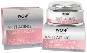 WOW Skin Science Anti Aging Night Cream - 50 ml