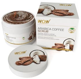 WOW Skin science Arabica Coffee Scrub - 200 ml