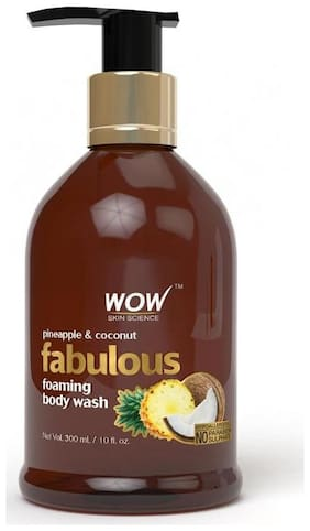 WOW Skin science Pineapple And Coconut Body Wash - 300 ml