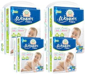 Wowper Fresh Pants Diapers Medium 56 pcs (Pack Of 4)