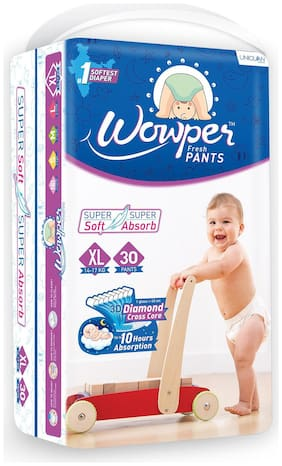 Wowper Fresh Pant Diaper Extra Large  30 Pcs