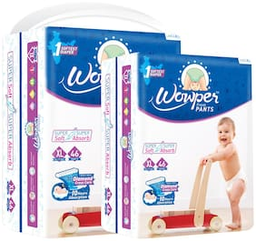 Wowper Fresh Pants Diapers - XL (Set of 2) 46 Pieces in each pack