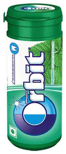 Wrigleys Orbit Chewing Gum - Spearmint  Sugarfree 22 g