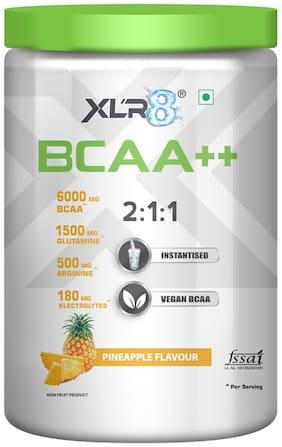 XLR8 BCAA++ Powder Supplement - Instantised Vegan BCAA  (450 g, Pineapple)