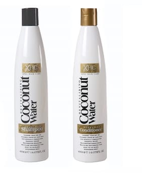 Xpel Marketing Coconut Shampoo & Conditioner Combo for Revitalising Dehyrated Hair Back To Its Shimmering Best 400 ml