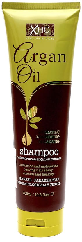 Xpel Marketing Argan Oil Shampoo For Dry & Frizzy Hair,Nourishes and Moisturises 300 ml (Pack Of 1)