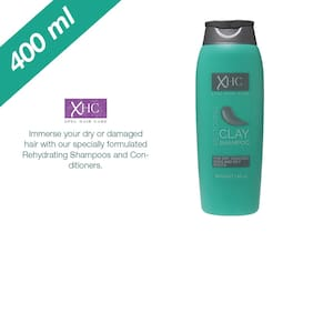 Xpel Marketing Clay Shampoo, Refind Clay, For Restoring Your Dry Cracked Ends & Oily Roots-400ml - For All Hair Types
