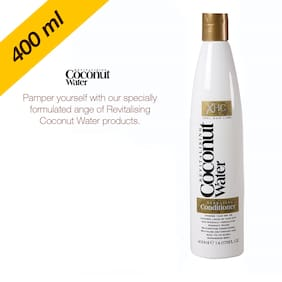 Xpel Marketing Coconut Conditioner for Revitalising Dehyrated Hair Back To Its Shimmering Best, 400 ml-SLES Free