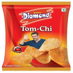 yellow diamond Potato Chips - Tom-Chi 95 gm