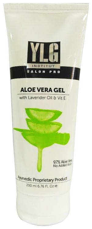 YLG Institut Salon Pro Aloe Vera Gel 200 ml (Pack of 1)