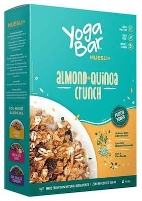 Yoga bar Muesli - Almond & Quinoa Crunch 400 g