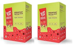 Yogabar Breakfast Protein Apple Cinnamon Bars - 300g, 6 x 50 g (Pack of 2)