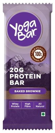 Yogabars Whey Protein Bar - Baked Brownie 50 g