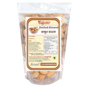 Yugantar Shelled Almonds 200 g ( Pack Of 1 )