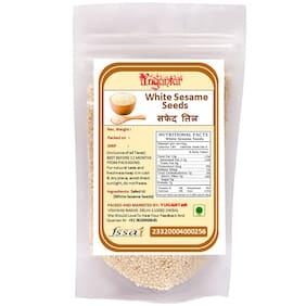 Yugantar White Sesame Seeds (Safed Til)-100g