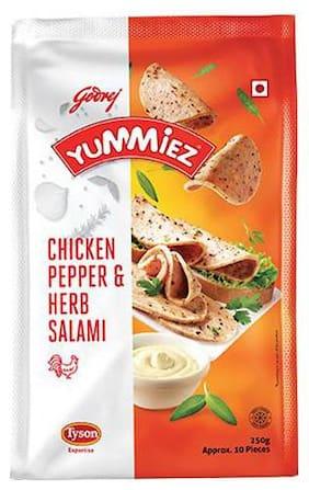 Yummiez Pepper & Herb Salami Chicken 250 g