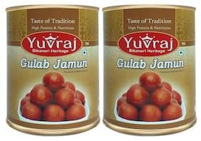 Yuvraj Gulab Jamun 1 kg (Pack of 2)