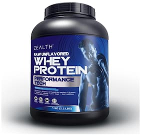Zealth Whey Protein Concentrate 80% Protein Unflavoured 1Kg