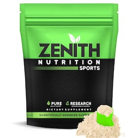 Zenith Nutrition Whey Protein with Enzymes for Digestion | 26g protein |  1050g (French Vanilla) (Pack of 1)