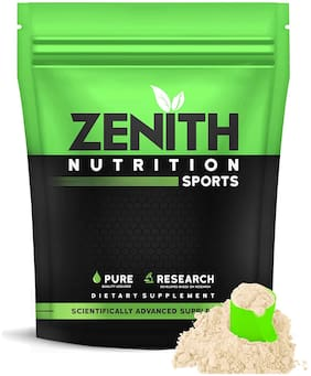 Zenith Nutrition Whey Protein with Enzymes for Digestion   26g protein    525g (French Vanilla) (Pack of 1)