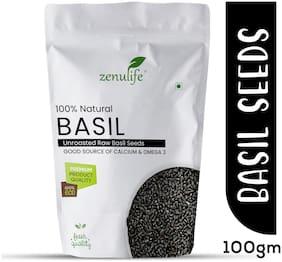 Zenulife Basil Seeds/Tukmariya/ Sabja Seeds 100g