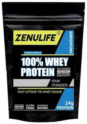 Zenulife Nutrition Whey Protein Concentrate 80% Unflavoured 50g (Pack of 1)