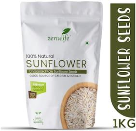 Zenulife Raw Sunflower Seeds - 1Kg