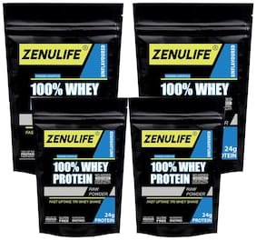 Zenulife Zero Carb Iso-Zero Pure Whey Isolate Whey Protein 100g (Pack of 3)