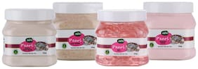 Zerb Combo Pack of Pearl Facial Kit (Face Scrub;Gel;Massage Cream;Mask);Pack of 4(200g each)