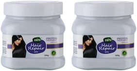 Zerb Hair Repair Spa Enriched With Aloe Vera Natural Extract Protein Treatment 200gm each (Pack of 2)