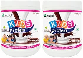 Zindagi Kids Protein Powder - Champ Protein Powder - Health Supplement For Kids (Pack Of 2)