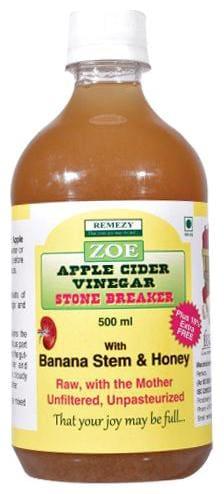 Zoe Apple Cider Vinegar - With Banana Stem Juice & Honey 500 ml