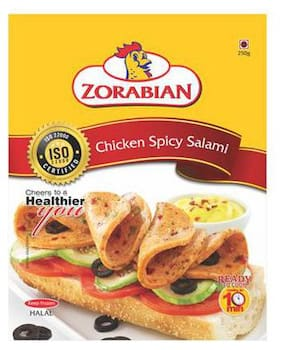 Zorabian Chicken - Spicy Salami 250 g