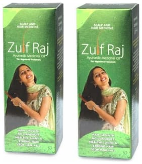 ZulfRaj Ayurvedic Hair Oil 100ml(Pack of 2)