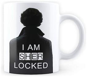 Mc Sid Razz I am Sherlocked - [ Sherlock Holmes, Benedict Cumberbatch ] Quirky Coffee Mug