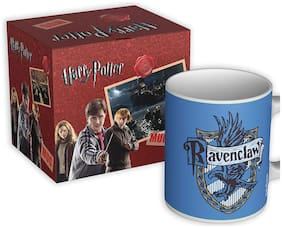 Mc Sid Razz Official Harry Potter - Ravenclaw - Coffee Mug, Gift | Licensed by Warner Bros, USA