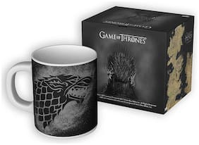 Mc Sid Razz Redwolf Official Game Of Thrones Stark Abstract - Coffee Mug, Licensed By Hbo (Home Box Office), Usa