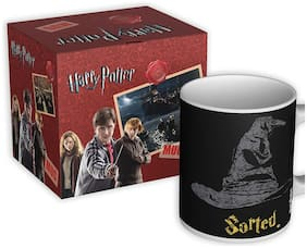 Mc Sid Razz Official Harry Potter Coffee Mug of Sorted | Gift | Licensed by Warner Bros, USA | Gift Mugs for Birthday | Gift Mugs for Him and Her