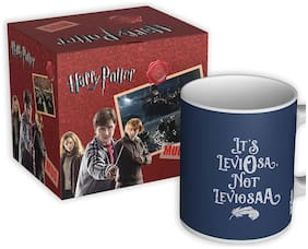 Mc Sid Razz Harry Potter Coffee Mug of Leviosa |  Gift | Birthday Gifts | Officially Licensed by Warner Bros, USA