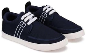 Men Black;Blue Casual Shoes