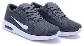 02HERO Men 02Hero Men's Sport Shoes Running Shoes ( Grey )