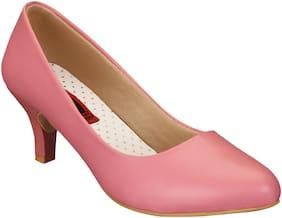 1 WALK Comfortable Heeled sandals / Party Wear /Office Wear/Pumps/Footwear For women /College girls wear