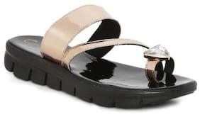 Catwalk Rose Gold Slippers
