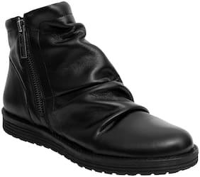 Salt n Pepper Women Black Boot