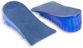 1Pair Height Increase Shoe Insoles Heel Insert Pad