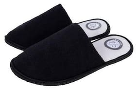 92 MILES Unisex Black Outdoor slippers