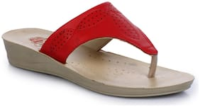 A-HA By Liberty Women Red Slippers