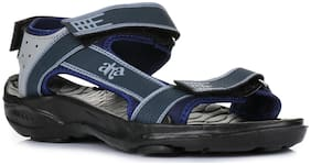 A-HA By Liberty Men Blue Sandals & Floaters
