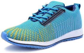 AADI Men's Blue Mesh Running Sport Shoes Running Shoes For Men ( Blue )