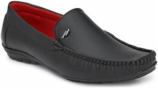 AARAVIN'S Men Black Loafers - AR_115